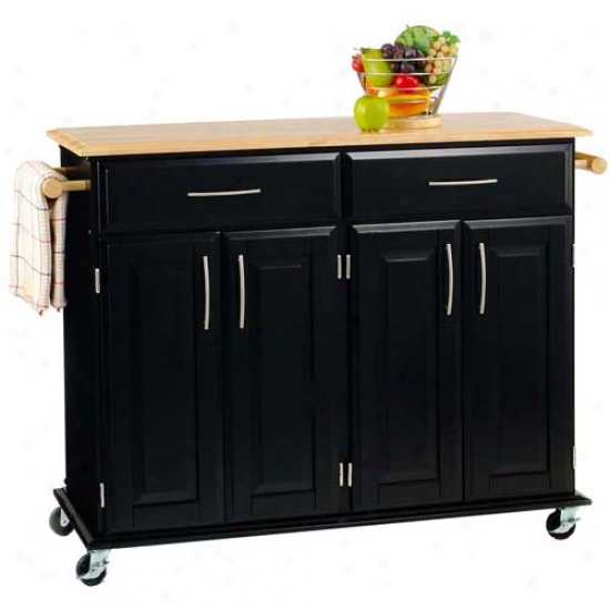Home Styles Dolly Madison Kitchen Island Cart