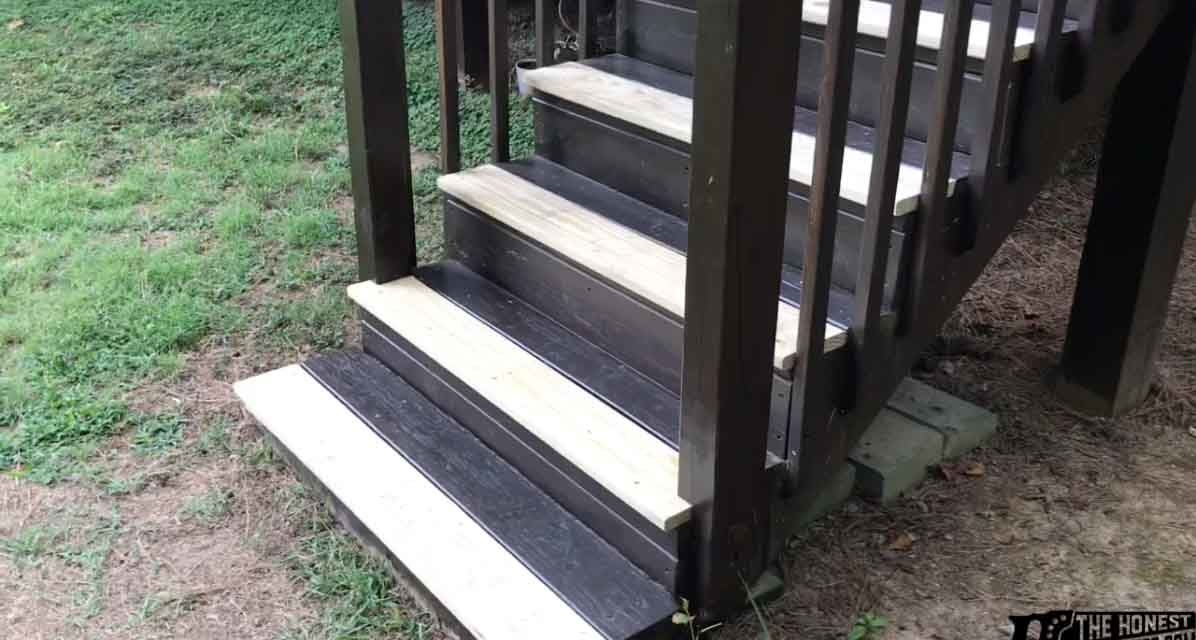 How To Replace Deck Stair Treads The Honest Carpenter | Composite Exterior Stair Treads | Blocking | Indoor | Deck Trex | Picture Framing | Patio