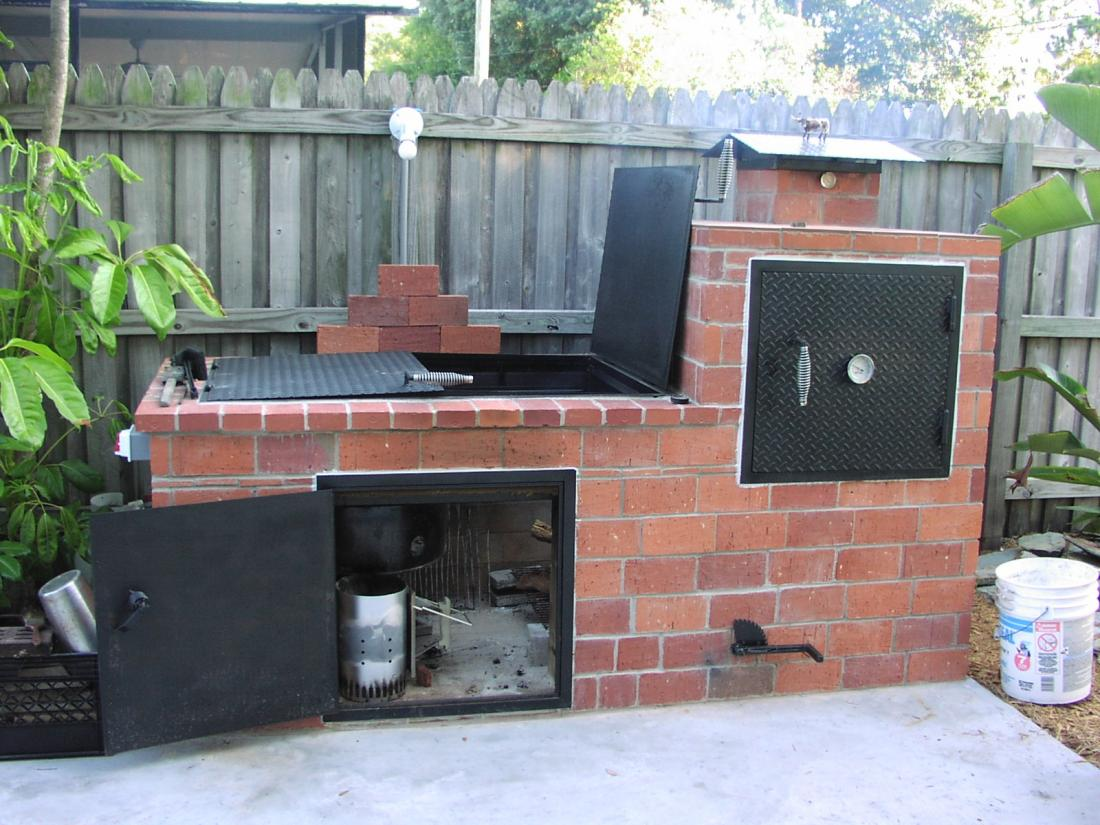 brick built smoker grills and smokers the hot pepper