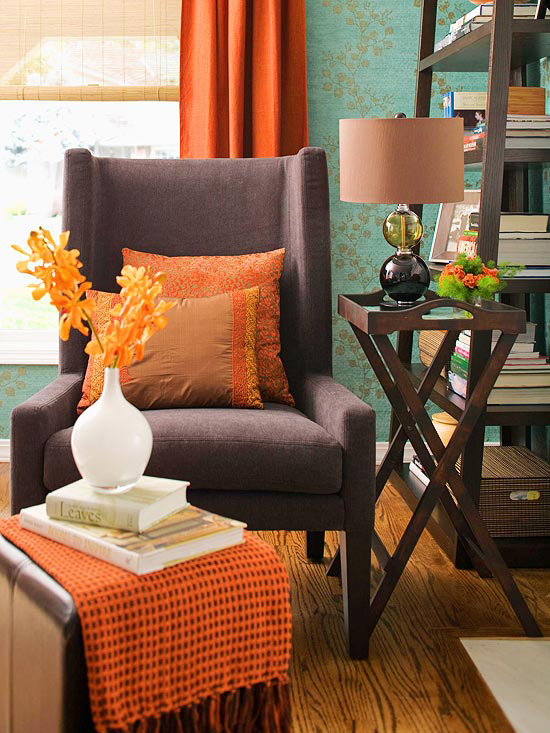 Fall Decorating  Fresh Color Combinations   The Inspired Room Fall Decorating  Fresh Color Combinations