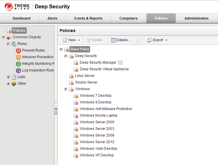 Deep Security Manager 10