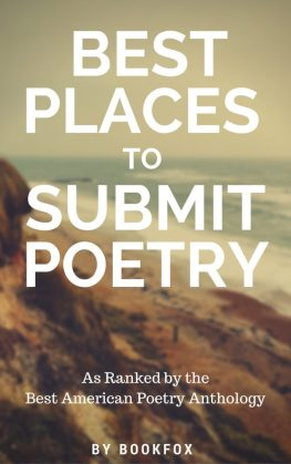 Best Places to Submit Poetry  A Ranking of Literary Magazines   Bookfox Poetry Submissions