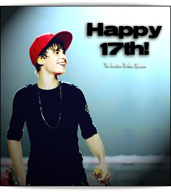 Justin Bieber 17th Birthday