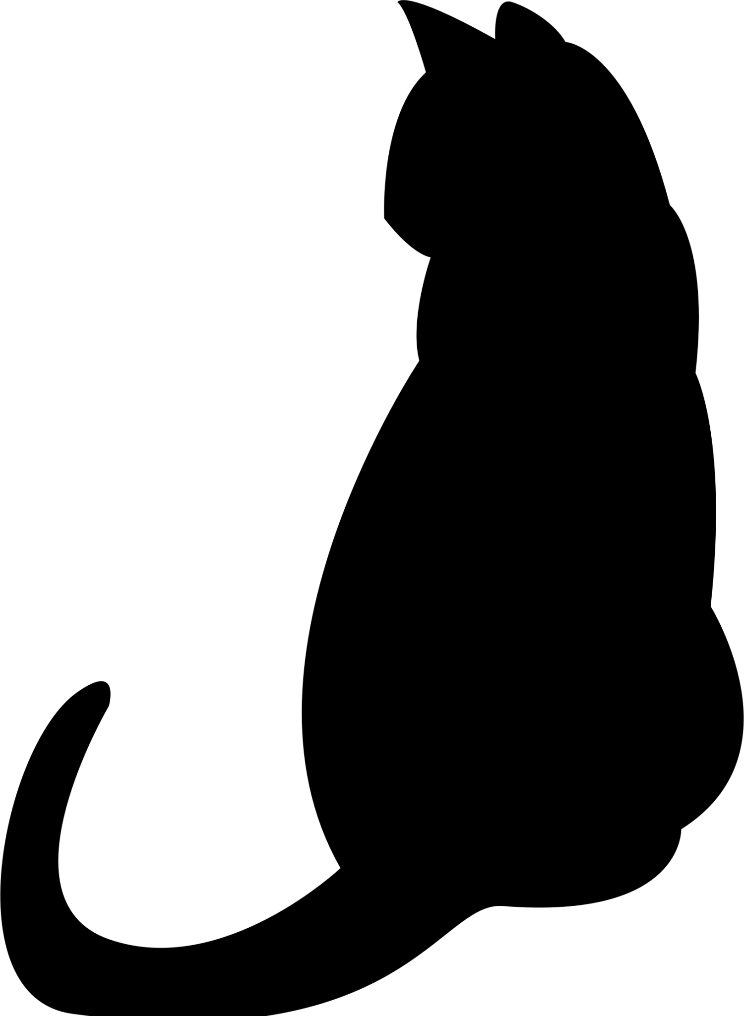 cat clipart transparent background - HD 820×1159