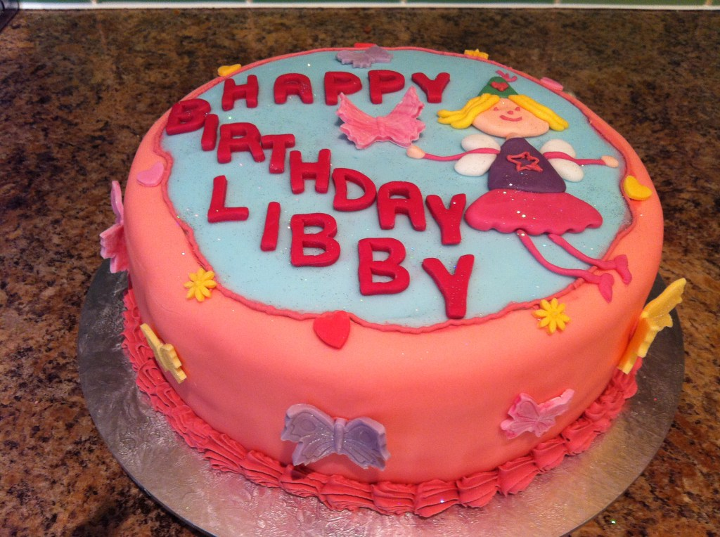 4th Birthday Cake For Libby The Ladybug Kitchen