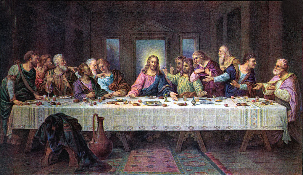 judas leaves last supper into the night - 640×370