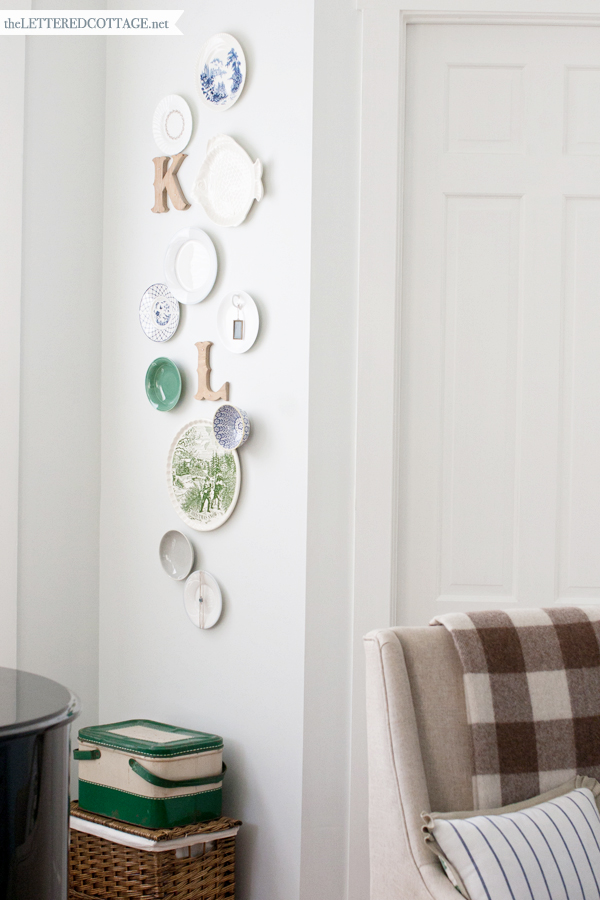 Decorating With Plates   The Lettered Cottage Save