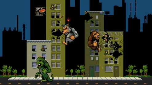 Classic Rampage Arcade Game Available to Play for Free