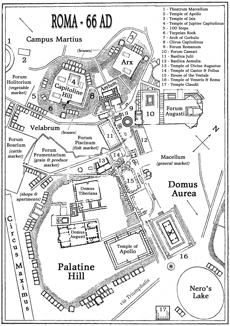 David Blixt: Colossus: Map of Rome