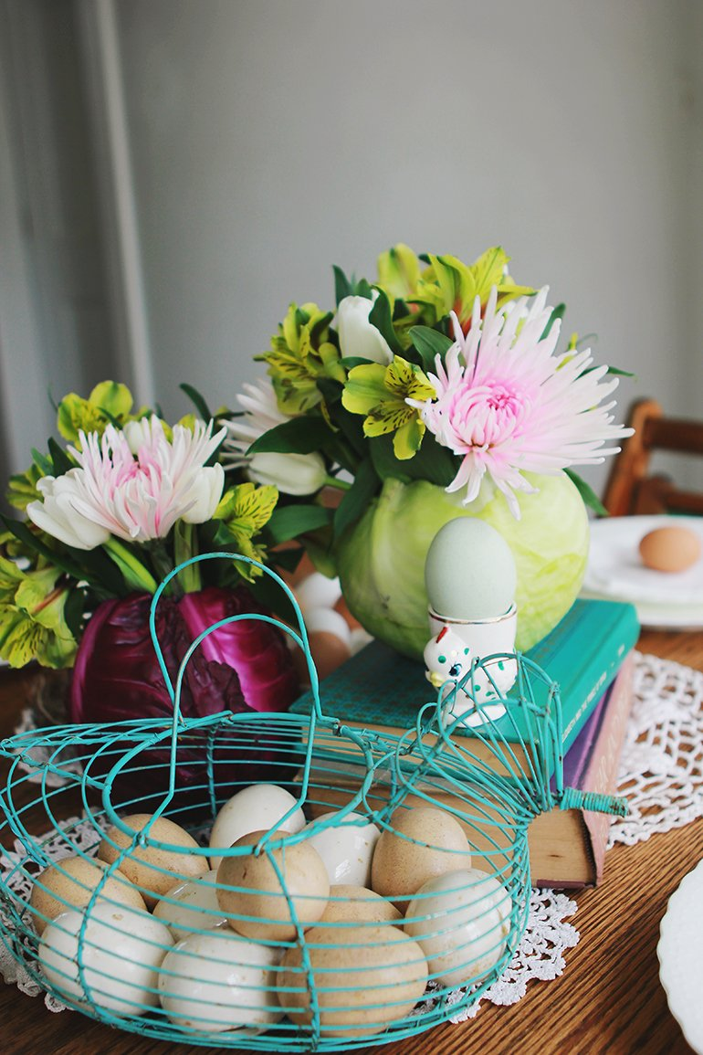 A Simple Easter Centerpiece The Merrythought