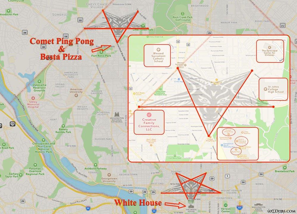 Washington Dc Street Layout Illuminati Washington Dc Map Washington