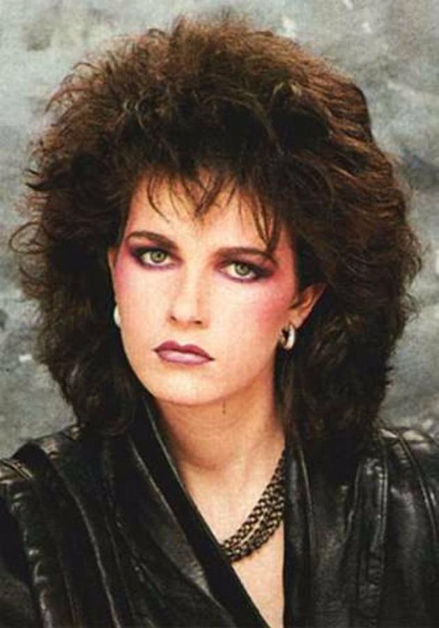 80s Heavy Madonna Eye Makeup
