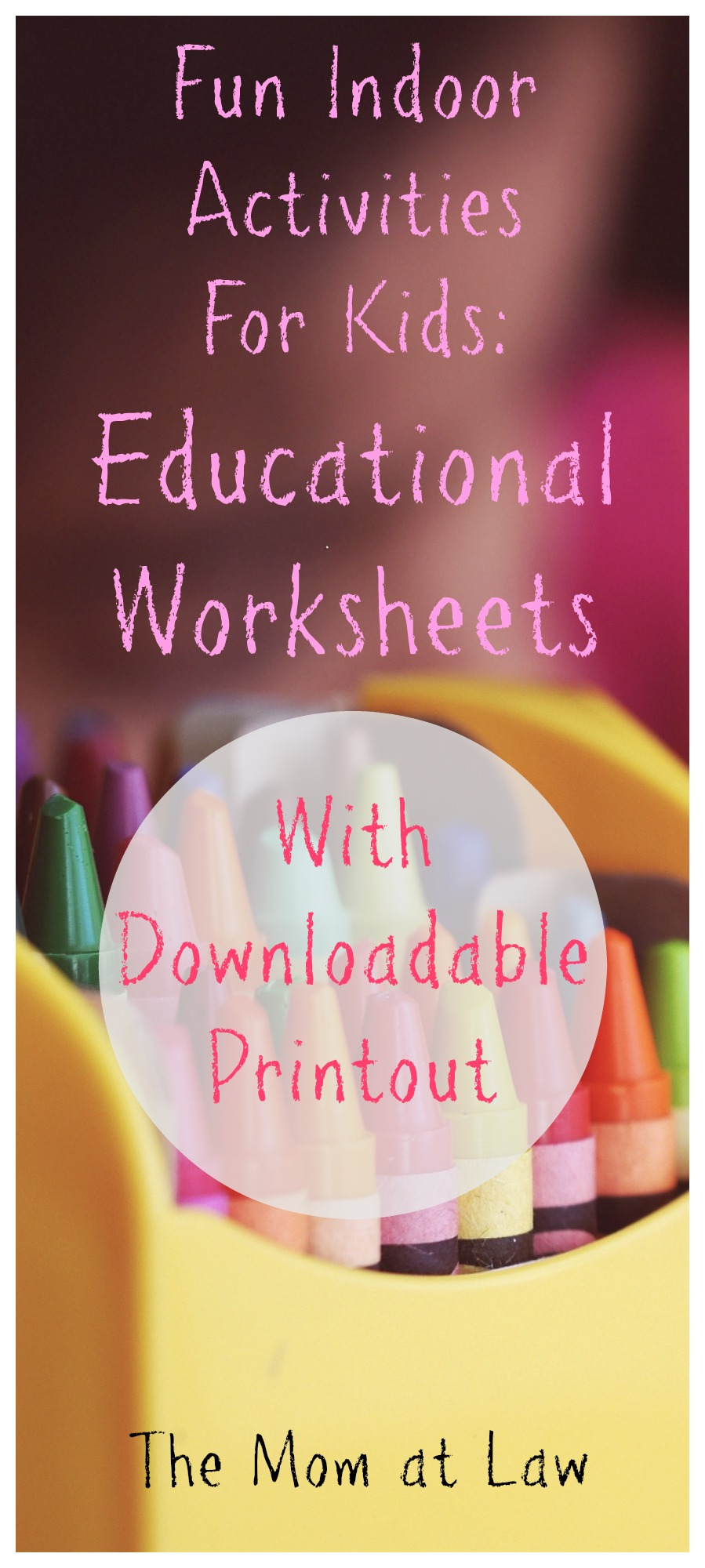 education Archives   The Mom at Law Educational Worksheets