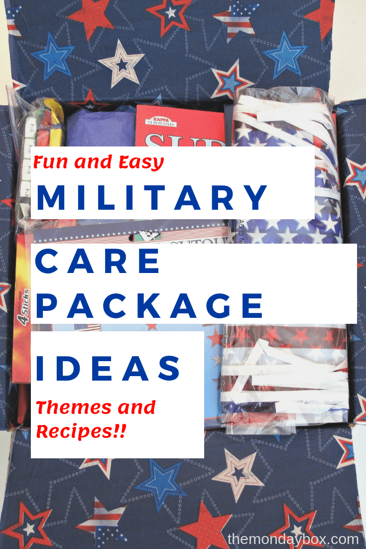 Military Care Package Ideas Fun And Easy Themes And