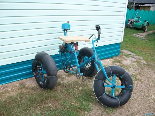 Galeri Foto Snowmobiles dari Motosikal - Foto 19