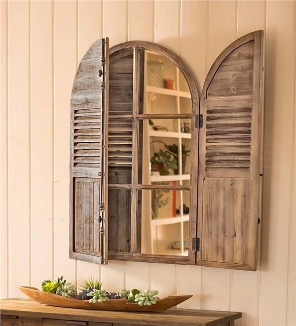 30 Best Of Window Shutter Mirrors