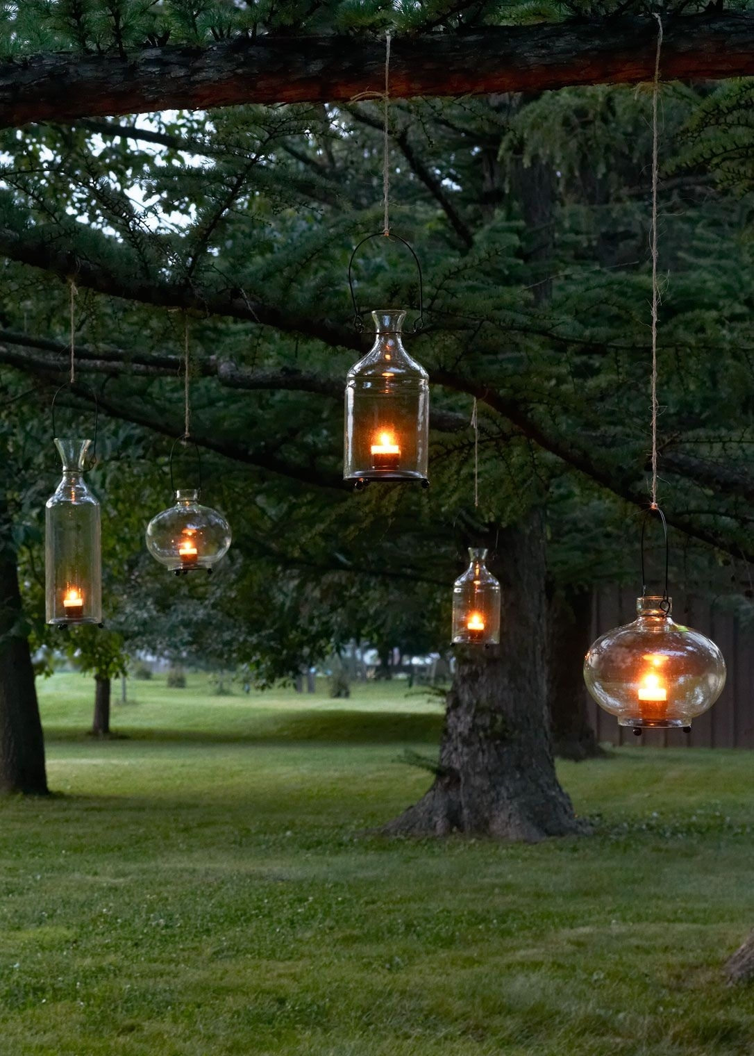 15 Best Of Outdoor Hanging Lanterns For Trees