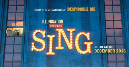 Sing  Hits a High Note   The Mycenaean A promotional poster for Sing pictures the movie s main character  Buster  Moon  a koala who puts on a singing competition at a local theater