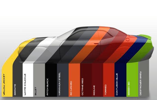 Paint Charger Colors 2016 Dodge