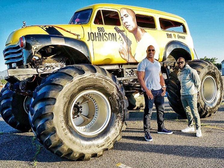 Rock Truck Star Monster