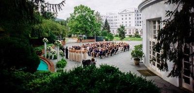 Alexandra & Eric's Greenbrier Resort Wedding • The Oberports