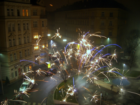 Happy New Year s Eve    Vienna  Austria     the open end   For