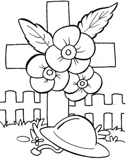 wreath template anzac day # 41