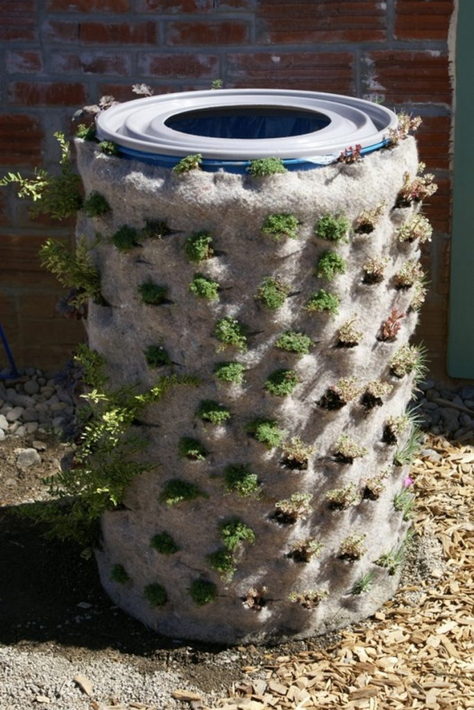 Diy Barrel Planter The Owner Builder Network