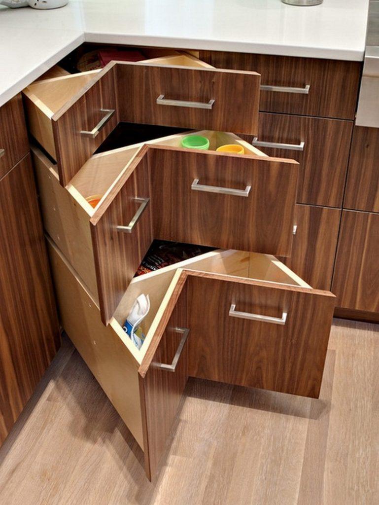 Best Kitchen Gallery: Diy Corner Cabi Drawers How To Make A Coner Cabi Drawers of Corner Kitchen Cabinet Drawer on cal-ite.com