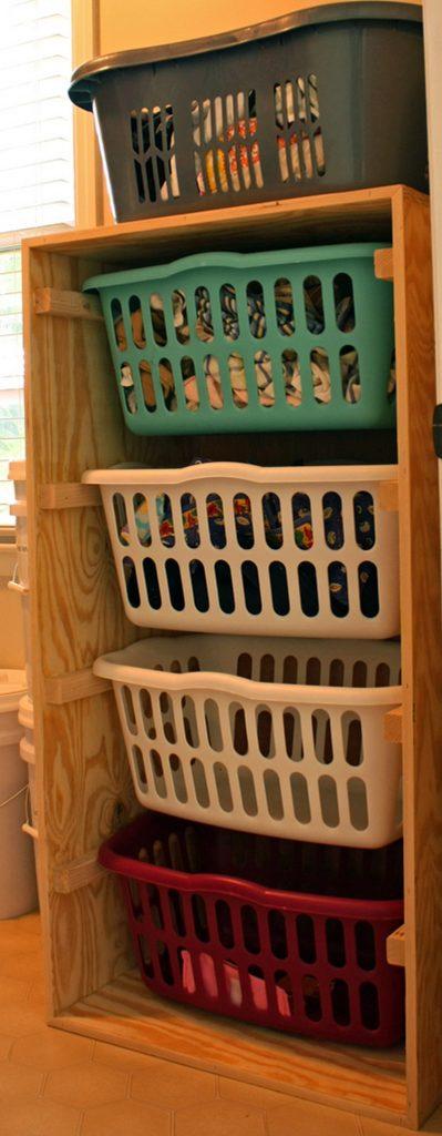 Door Mount Laundry Sorter