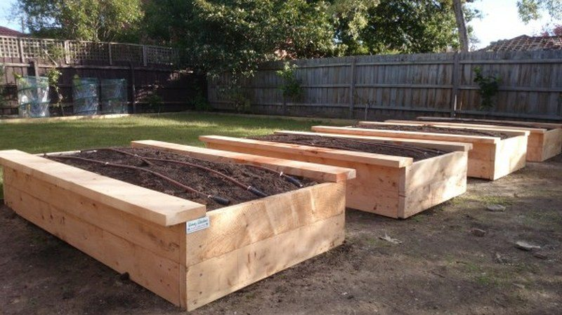 Raised Garden Bench Plans
