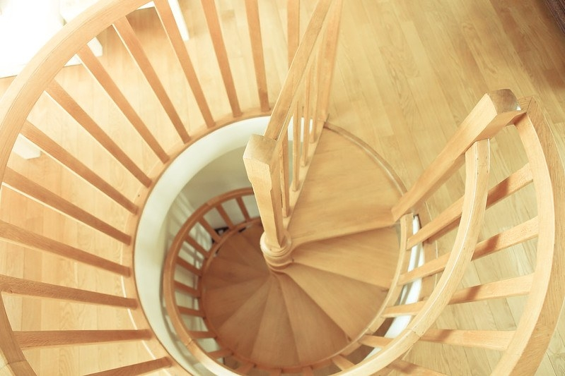 Spiral Staircase ⋆ Theplywood Com   Making A Spiral Staircase   Outline   Abandoned   Well Labelled   Beautiful   Slide