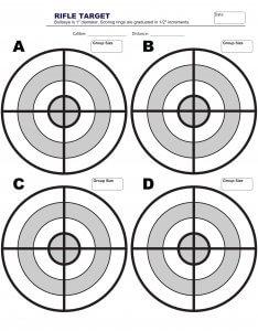 free printable shooting target # 29