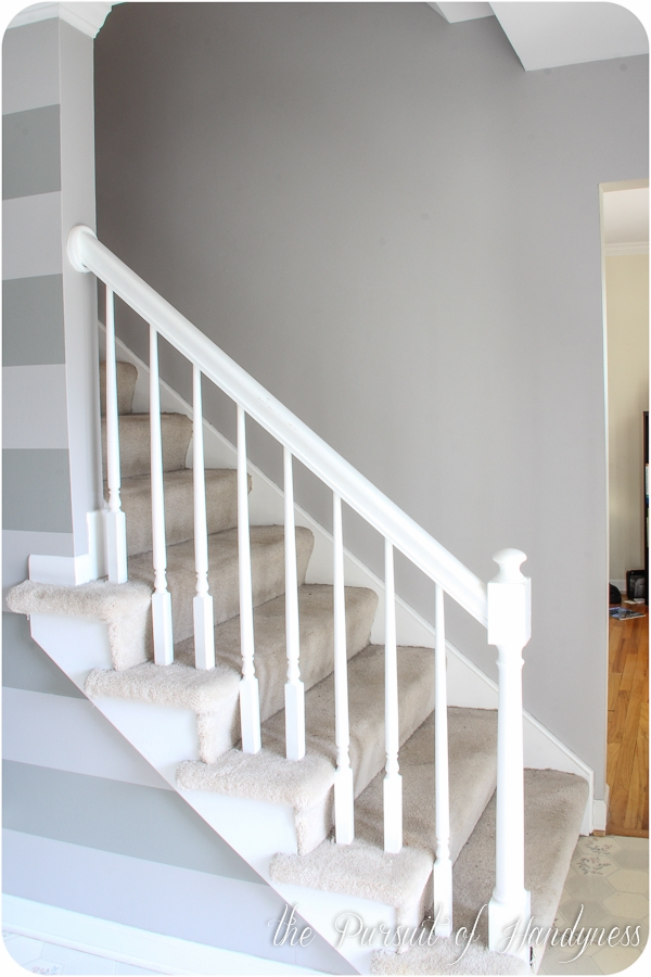 What Lies Beneath The Carpeted Stairs That Is   Refinishing Builder Grade Stairs   Diy   Basement Stairs   Staircase Makeover   Flooring   Carpeted Stairs