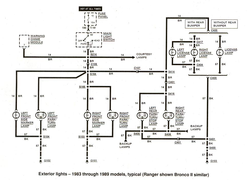 1984 Mercury Grand Marquis Door Wiring Diagram