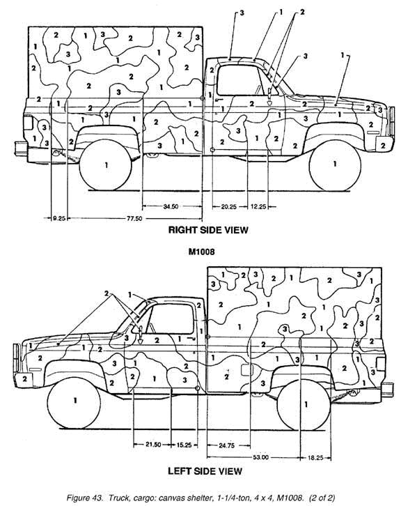 Camo Jack Trucks Are Painted