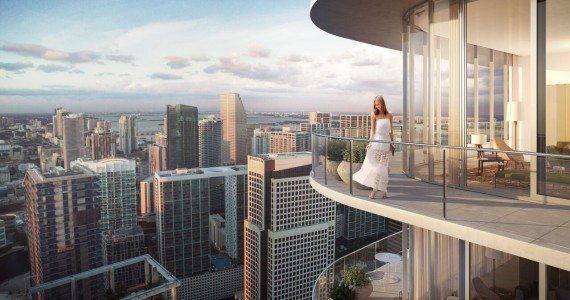 Sls Lux Penthouse Renderings Related Group Brickell