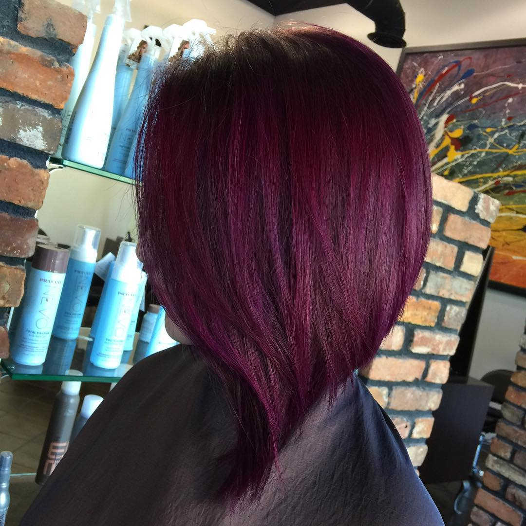 20 Plum Hair Color Ideas for Your Next Makeover (2019 Update)