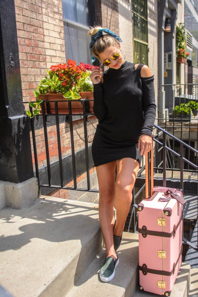 Lesley Murphy travels with Steamline Luggage