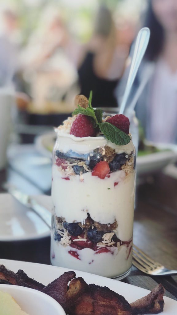 Yogurt parfait from The Montauk in Scottsdale, Arizona