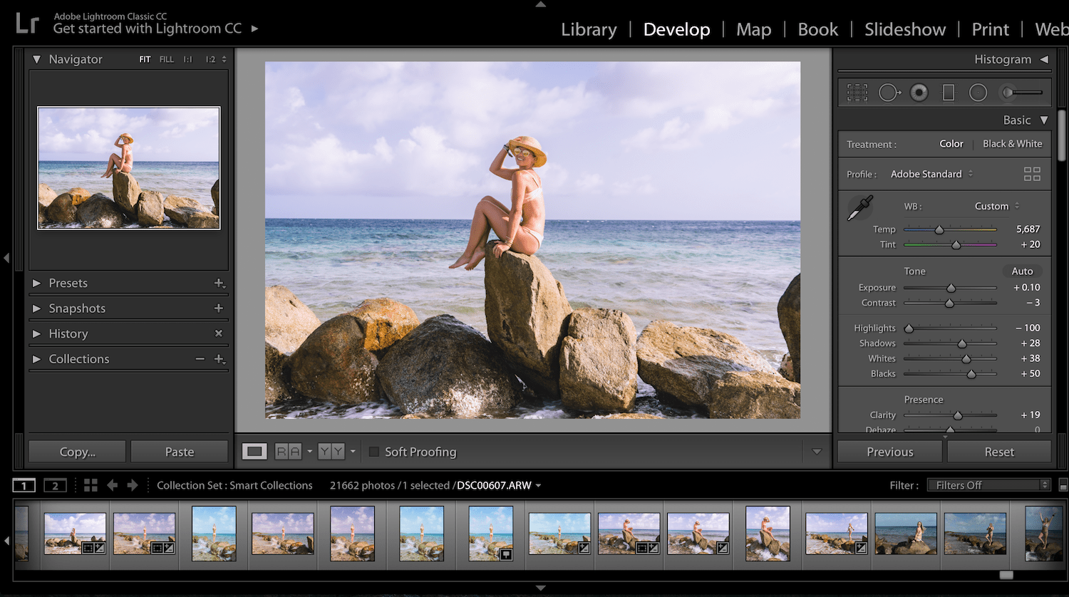 how to edit photos using lightroom