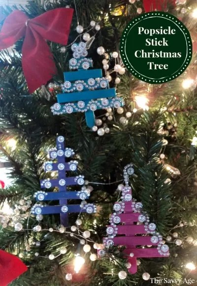 christmas ornaments popsicle sticks # 74
