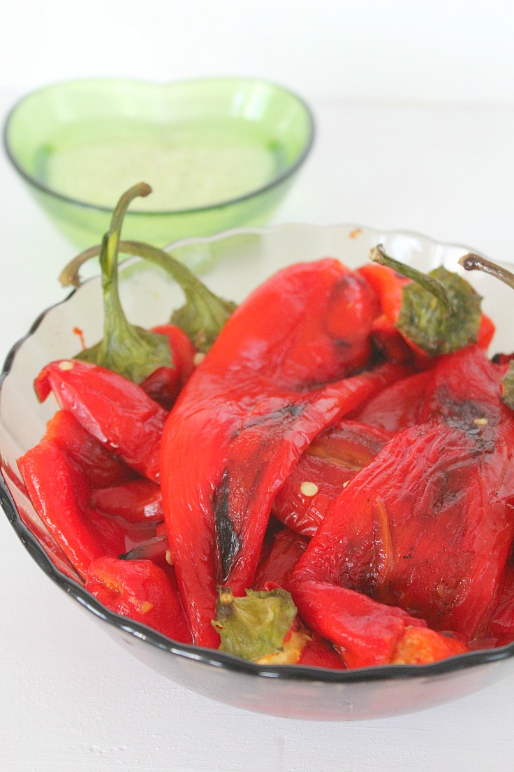 Sweet peppers salad