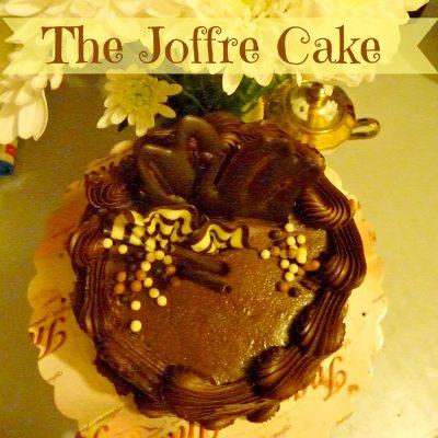 The ultimate chocolate cake – Joffre cake