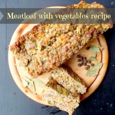 Christmas dinner idea – Meatloaf with lots of vegetables