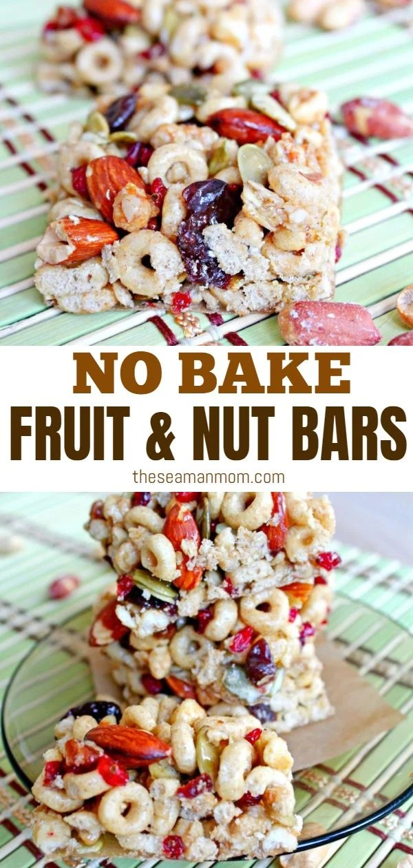Have you been looking for Cheerios recipes? Give these yummilicious fruit and nut bars a try this summer! Made with almonds, dry gooseberry and crispy Cheerios, these no bake bars are so quick to make, the perfect summer snack for the kiddos! via @petroneagu