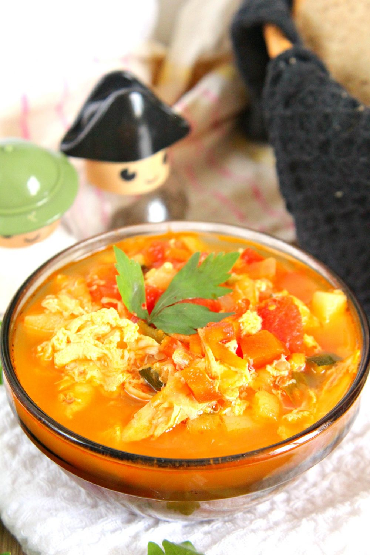 Chicken wings soup