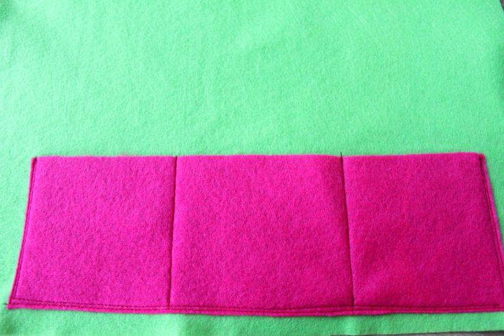 Organizer sewing pattern