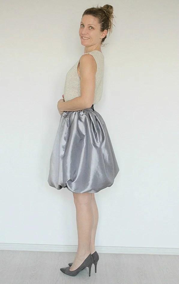 Balloon skirt pattern