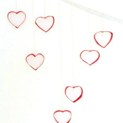 Incredibly easy, cheap and adorable valentine's day decorations